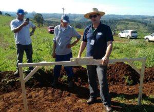 Agricultores de Bandeirante aprendem a conservar o solo e a água