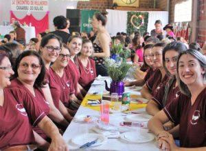 Encontro de mulheres de Caxambu do Sul atrai 250 participantes