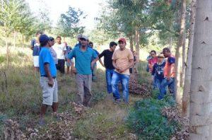 Terra indígena Xapecó recebe agentes de extensão rural