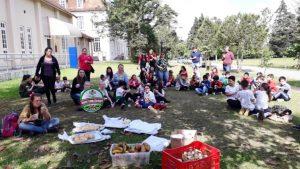 Epagri reúne escolares que foram destaque em educação ambiental no Planalto Norte