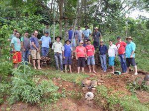 Proteção de fontes melhora a qualidade da água nas propriedades de Irati