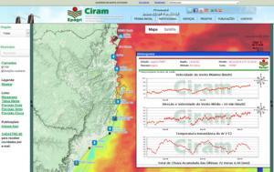 Estação Meteorológica Farol de Santa Marta está online