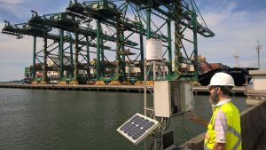 Epagri instala maior rede estadual de monitoramento do nível do mar do Brasil