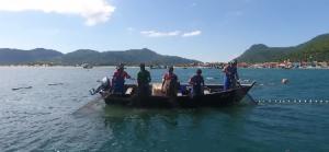 Cerco fixo flutuante, uma modalidade de pesca amiga da natureza