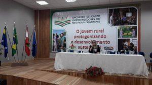 Com a presença da vice-governadora, encontro de jovens rurais da Serra é sucesso