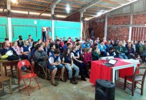 Beneficiários do crédito fundiário se encontram em Guaraciaba