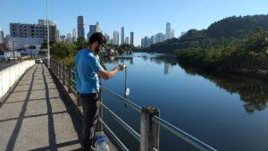 Epagri desenvolve estudo sobre qualidade de água em Balneário Camboriú