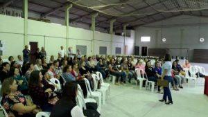 Read more about the article Agricultoras de Rio Fortuna discutem a gestão na propriedade rural
