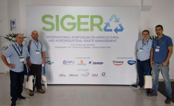 Epagri apresenta dez trabalhos em simpósio internacional sobre resíduos agropecuários