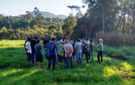 Manejo e fertilidade do solo são temas de reunião em Irineópolis
