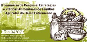 Read more about the article Seminário discute segurança alimentar no Oeste do Estado, nesta quinta-feira