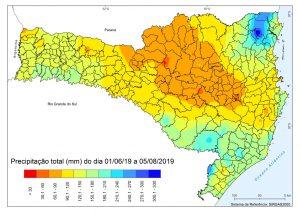 Santa Catarina apresenta situação de estiagem