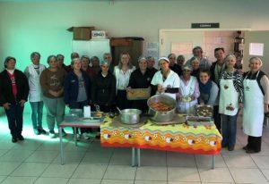 Epagri realiza oficina de culinária com merendeiras e colaboradoras de escolas de São Domingos