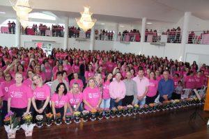 Encontro de mulheres reúne 750 participantes em Treze de Maio