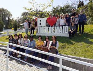 Turistas conhecem empreendimentos rurais em Treze de Maio