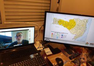 Palestra on-line fala da situação hidrológica do Rio do Peixe