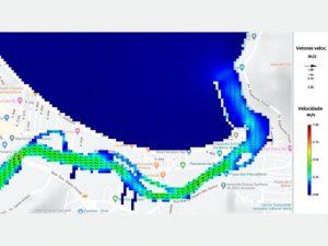 Epagri conclui modelagem hidrodinâmica em estudo sobre qualidade da água do rio Camboriú