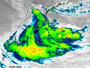 Ventos em SC: tempestades ou ciclone?