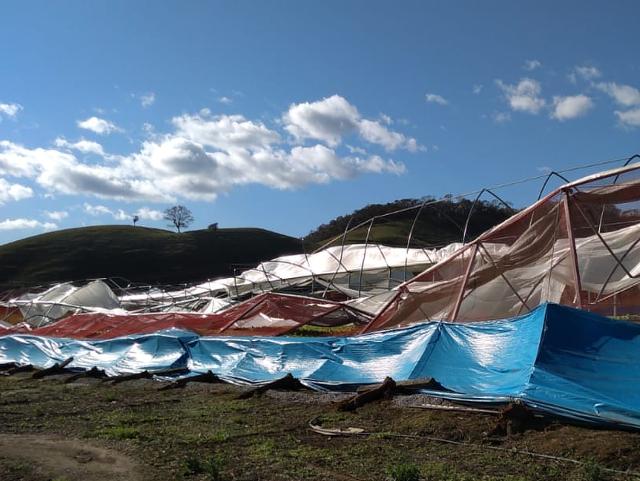 Ciclone em SC: Epagri providencia meios de recuperar perdas nas zonas rurais e pesqueiras