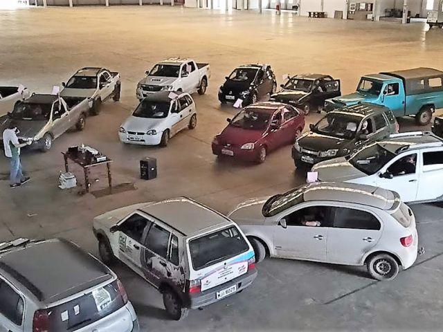 Cooperativa de São Bento do Sul realiza assembleia em sistema drive-in