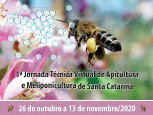 Read more about the article Estratégias de mercado, mel na culinária, legislação e muito mais na Jornada de Apicultura e Meliponicultura desta semana