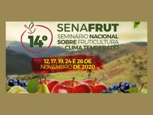 Inscrições abertas para o 14º Senafrut