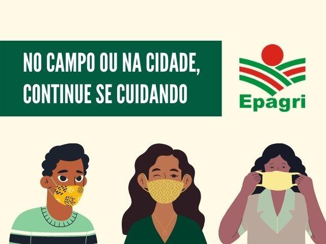 Coronavírus em SC: Epagri e agricultores unidos na luta contra a pandemia