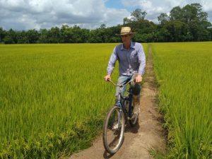 Read more about the article Taipas reforçadas fazem o caminho para a rizicultura sustentável em SC